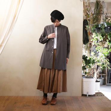 バンドカラーロングシャツCG【ユニセックス】