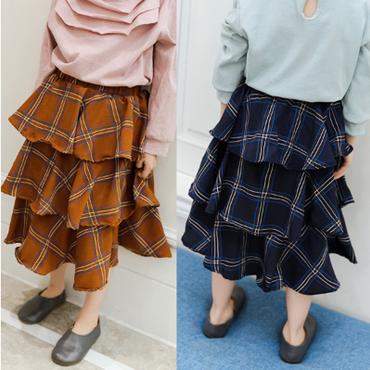 kids★romantic frill skirt