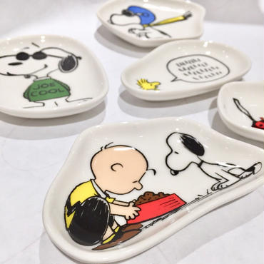 【SNOOPY】キャラクタープレートセット