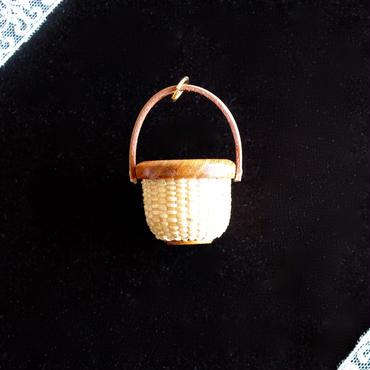 Nantucket Basket 1inch Round 欅
