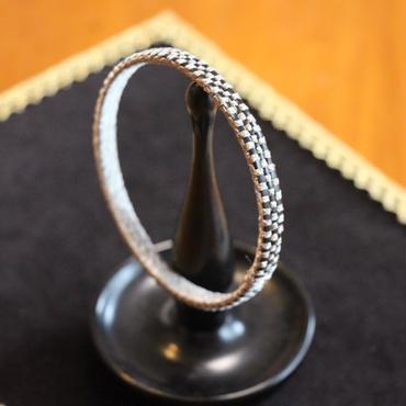 Nantucket Basket Ring Bracelet Silver