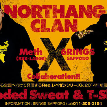 NORTHANG CLAN Fooded Sweat