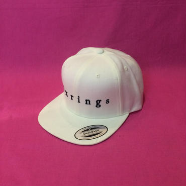 sixrings SNAPBACK CAP  WHT/BLK