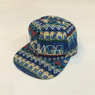 SIXRINGS SnapBack Cap / Native Blue