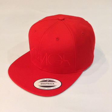 SIXRINGS SNAPBACK CAP/RED