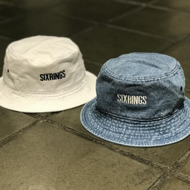 SIXRINGS BUCKET HAT /