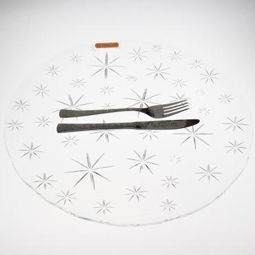 ドイツクリスタルガラスの大皿【Nachtmannナハトマン】