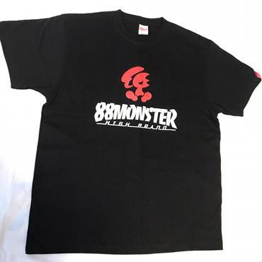 2017年モデル  メインロゴTシャツ 黒