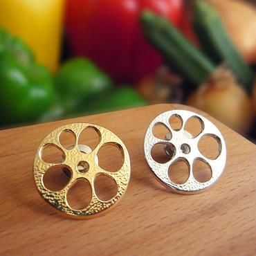 vegetables/レンコン輪切りピンブローチS