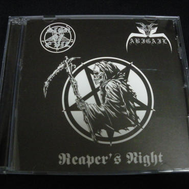 "Abigail ""Reaper's night"" Split CD with Sign of evil"