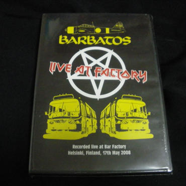 "Barbatos ""Live at Factory"" Live DVD"