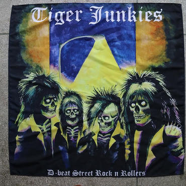 "Tiger Junkies ""D-beat street rock'n rollers"" Big Flag"