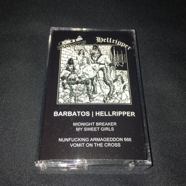 Barbatos Split  MC with Hellripper