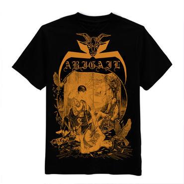 Abigail 中国ライブ 限定 T-shirts Gold print