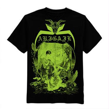 Abigail 中国ライブ 限定 T-shirts Green print