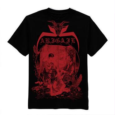 Abigail 中国ライブ 限定 T-shirts Red print