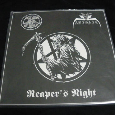 """Abigail """"Reaper's night"""" Split LP with Sign of evil"""