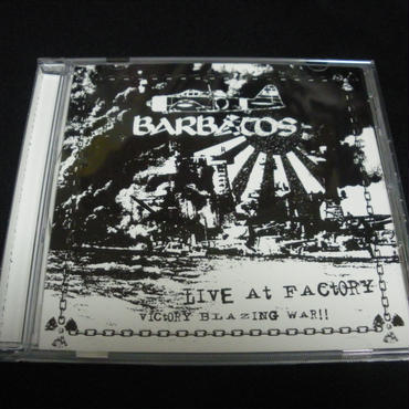 "Barbatos ""Live at Factory"" Live CD"