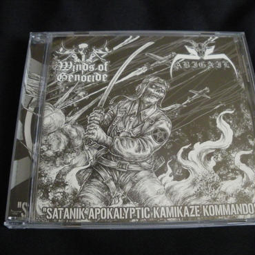 "Abigail ""Satanik apocalyptic kamikaze kommandos"" Split CD with Winds Of Genocide"