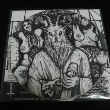 """Abigail """"Fucking satan"""" Split picture 7'ep with Nunslaughter"""