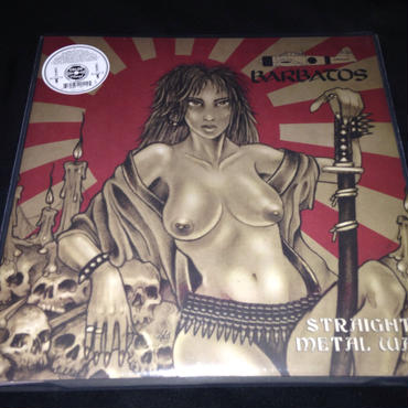"Barbatos ""Straight metal war"" LP Colored vinyl"
