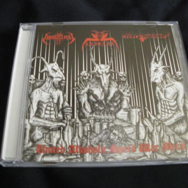 "Abigail ""United alkoholic speed war metal"" 3 way split CD with Hell Torment/Adokhsiny"