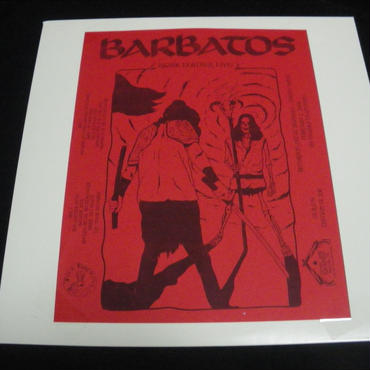 "Barbatos ""Razor leather live"" Live LP"