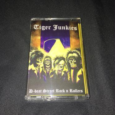 "Tiger Junkies ""D-beat street rock'n rollers"" MC"