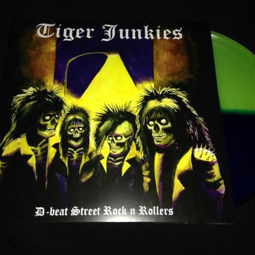 "Tiger Junkies ""D-beat street rock'n rollers"" LP Colored vinyl"