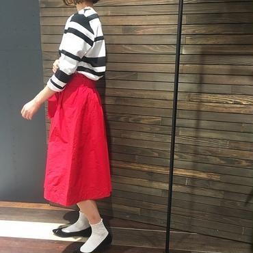 巻き風ヘムスカート