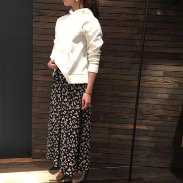 マーガレット花柄 ロングスカート