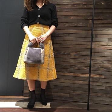 ツイードチェック柄スカート