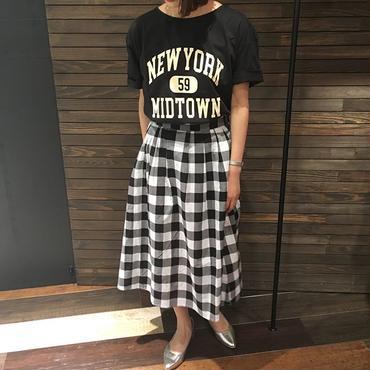 NEWYORK ロゴプリントTシャツ