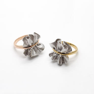 wrinkle series ring(pinch)