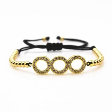 triple circle bracelet