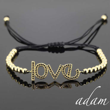 love message bracelet