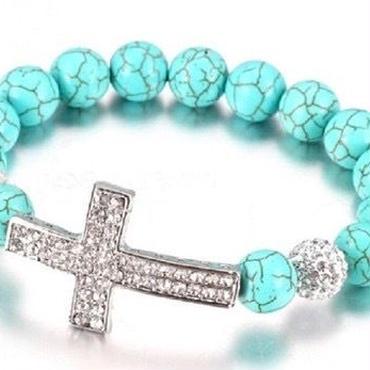 cross sea  bracelet