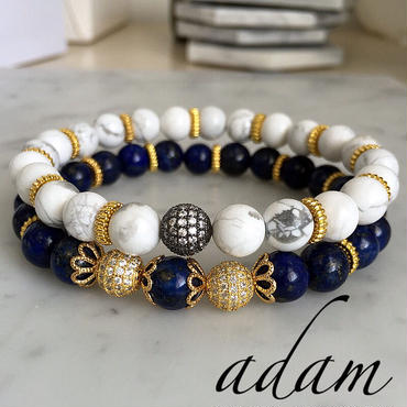 Natural L stone  bracelet