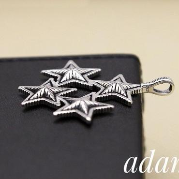 Quattro star necklace