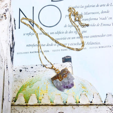 Greek Handmade Jewelry (amethyst)
