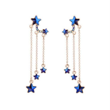 shooting star blue  pierce