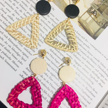 triangle crochet pierce