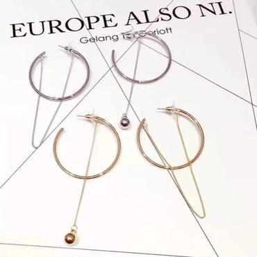 hoop chain asymmetry pierce