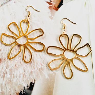 flower metal pierce