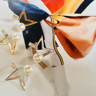 half star × pearl  pierce