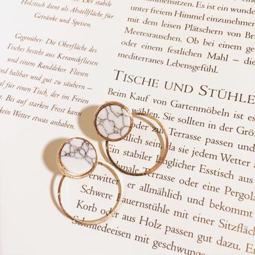 ring marble pierce
