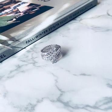 square  diamond roll ring