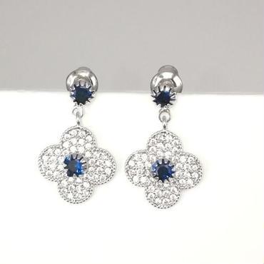 flower blue pierce