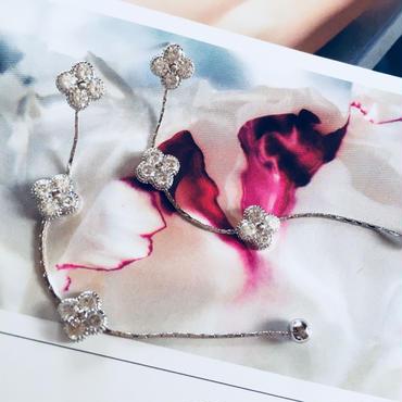 flower  long chain pierce
