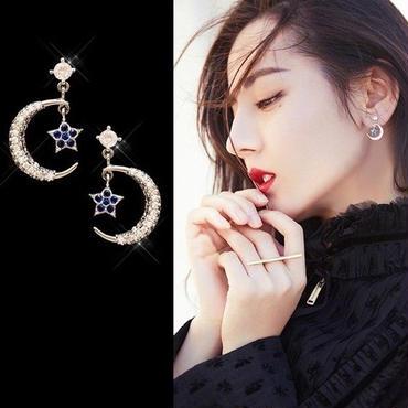 moon×star pierce
